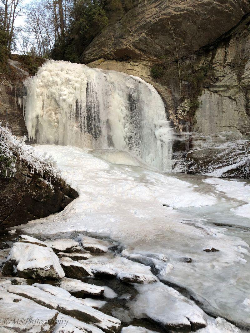 FrozenGlass Falls