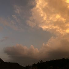 Thunderstorm coming